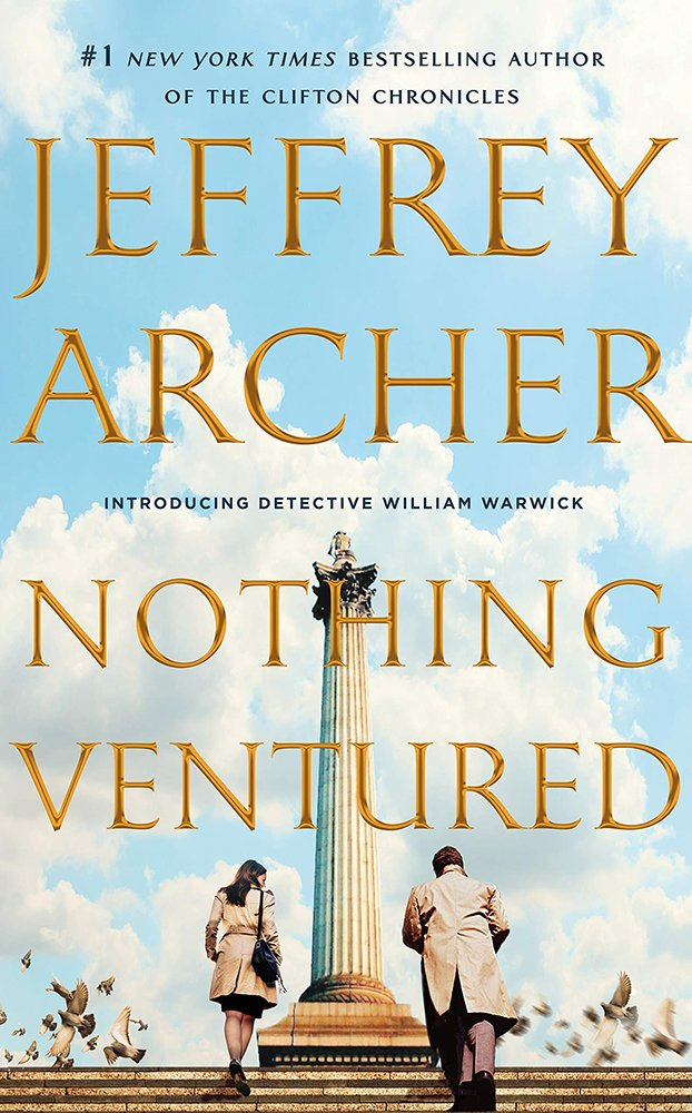 Nothing Ventured by Jeffrey Archer book cover